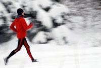 Laufen ist auch im Winter ein Vergnügen